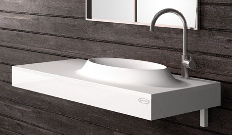 jacuzzi basin moove 2 Interesting Bathroom for Contemporary Home   new Moove by Jacuzzi