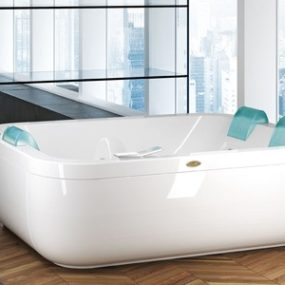 Extra Wide Bathtubs – new Aquasoul Extra by Jacuzzi