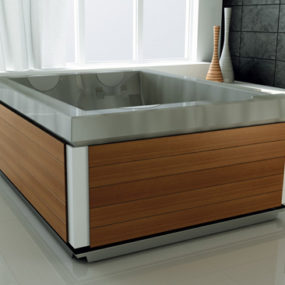 Freestanding Whirlpool Bath from Jacuzzi – new Unique hydromassage bath