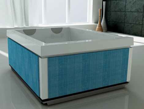 jacuzzi bathtub unique 2 Freestanding Whirlpool Bath from Jacuzzi   new Unique hydromassage bath
