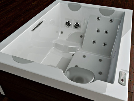 jacuzzi bathtub unique 6 jpg. Freestanding Whirlpool Bath from Jacuzzi   new Unique hydromassage