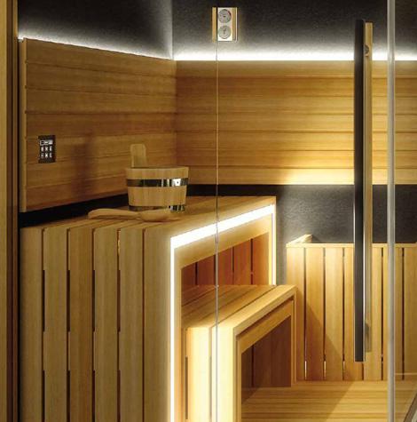 Complete Home Spa Sauna Shower Hammam Sasha By Jacuzzi