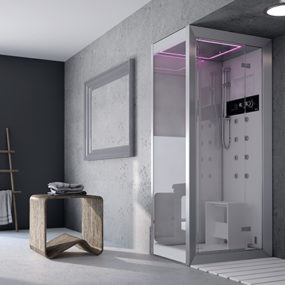 Hi-Tech Showers for your luxury home – Frame shower by Jacuzzi