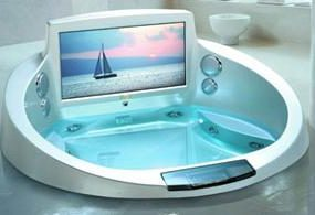 Jacuzzi's La Scala Whirlpool Bath – A Man's Dream