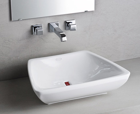 jacuzzi nexus suite 1 Modern Bathroom Suite from Jacuzzi Europe   new Nexus suite comes with changeable drain covers in 4 colors