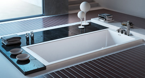 jacuzzi non jetted bath moove 1 Interesting Bathroom for Contemporary Home   new Moove by Jacuzzi