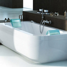 Two Person Whirlpool Tub from Jacuzzi: Aquasoul Double whirlpool
