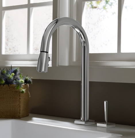 jado kitchen faucet cayenne 1 New Kitchen Faucets from Jado   Basil, Cayenne, Saffron, Coriander faucet designs