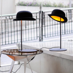 3 Hat Table Lamp By Jake Phipps