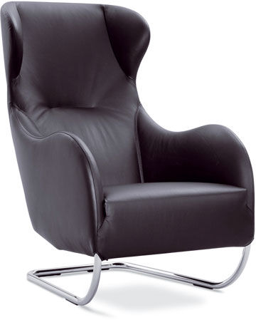 jan armgardt jolly chair New Designer Leather Chair by Wittmann   the Jolly chair by Jan Armgardt