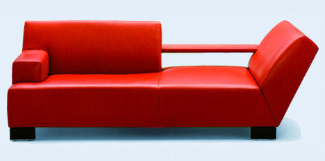 contemporary sofa rio by wittmann the designer furniture