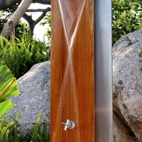 Outdoor Shower by Jane Hamley Wells – the Waterfall Shower