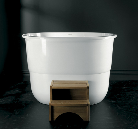 Japanese Sit Bath Tub - deep free standing soaking tub ...