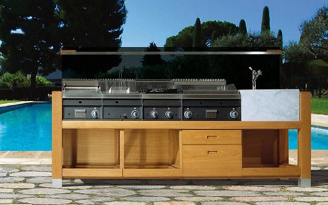 Outdoor Modular Kitchens by Jcorradi – Capri kitchen