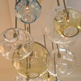 Modern Glass Lighting from jGoodDesign – Aqua