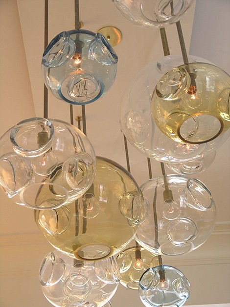 jgooddesign aqua glass chandeliers Modern Glass Lighting from jGoodDesign – Aqua