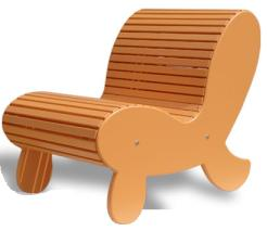 Modirondack Chair by Jovanni Inc. – design that makes you smile