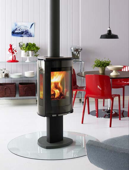 Jotul F 373 Stove Decorative From New Wood Burning