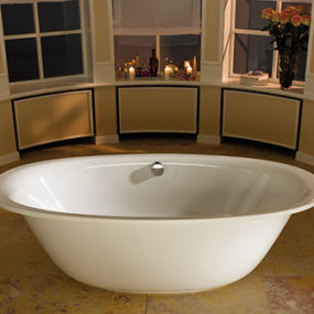 New Oval Bathtub from Kaldewei – Ellipso Duo Oval Demands to be Touched
