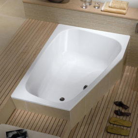 Plaza Duo Double Bath from Kaldewei – a bathtub for two