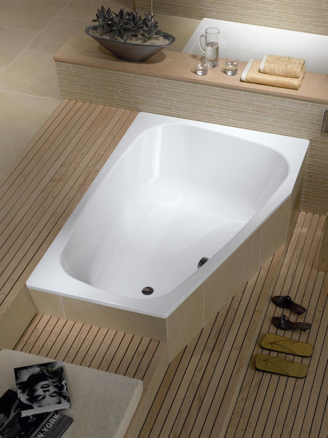 kaldewei plaza duo double bath Plaza Duo Double Bath from Kaldewei   a bathtub for two