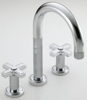 kallista laura kirar vir faucets Laura Kirar Vir Stil Collection for Kallista   where modern meets classic