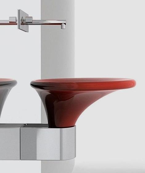karol washbasin kalla 1 Elegant Wash Basin by Karol   Kalla retro basins