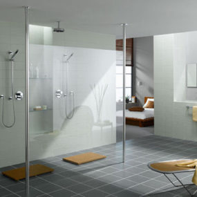 Walk-in-Shower from Kermi – the latest trend in shower enclosures