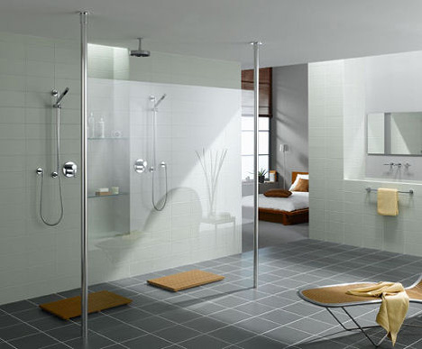 Walk-In Shower by Cesana - Eclisse curved shower enclosures with ...