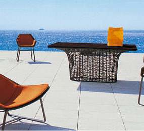 Kettal Outdoor Furniture – the Maia furniture collection: a truly modern design with a hint of retro inspiration
