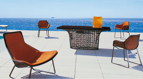 kettal maia furniture Kettal Outdoor Furniture   the Maia furniture collection: a truly modern design with a hint of retro inspiration