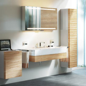 New bathroom collection from Keuco – Edition 300 interior concept