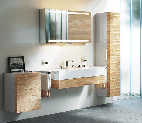 New bathroom collection from keuco edition 300 interior for Latest bathroom interior