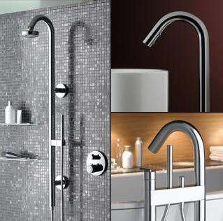 keuco edition atelier bathroom fixtures Contemporary Bathroom Faucet Line from Keuco   the new Edition Atelier