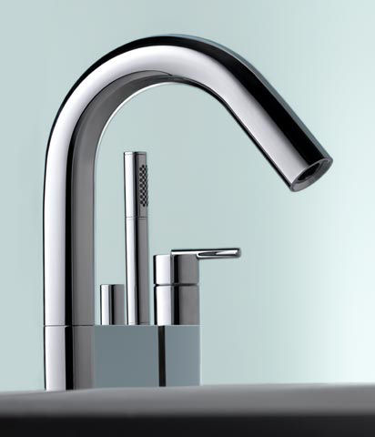 Contemporary Bathroom Faucet Line from Keuco - the new Edition Atelier