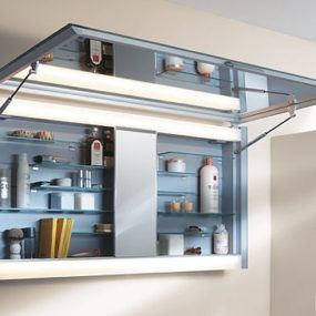New mirror medicine cabinet from Keuco – Edition 300 medicine cabinets