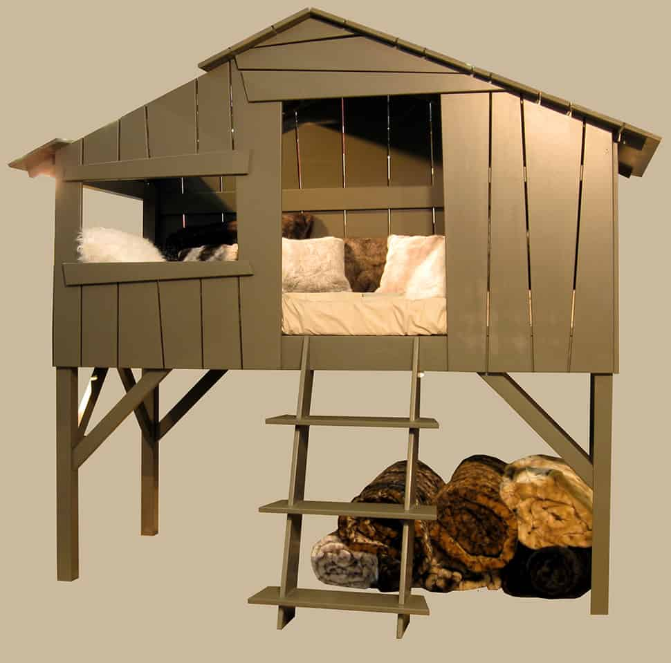 kids playhouse beds from mathy by bols loft treehouse. Black Bedroom Furniture Sets. Home Design Ideas