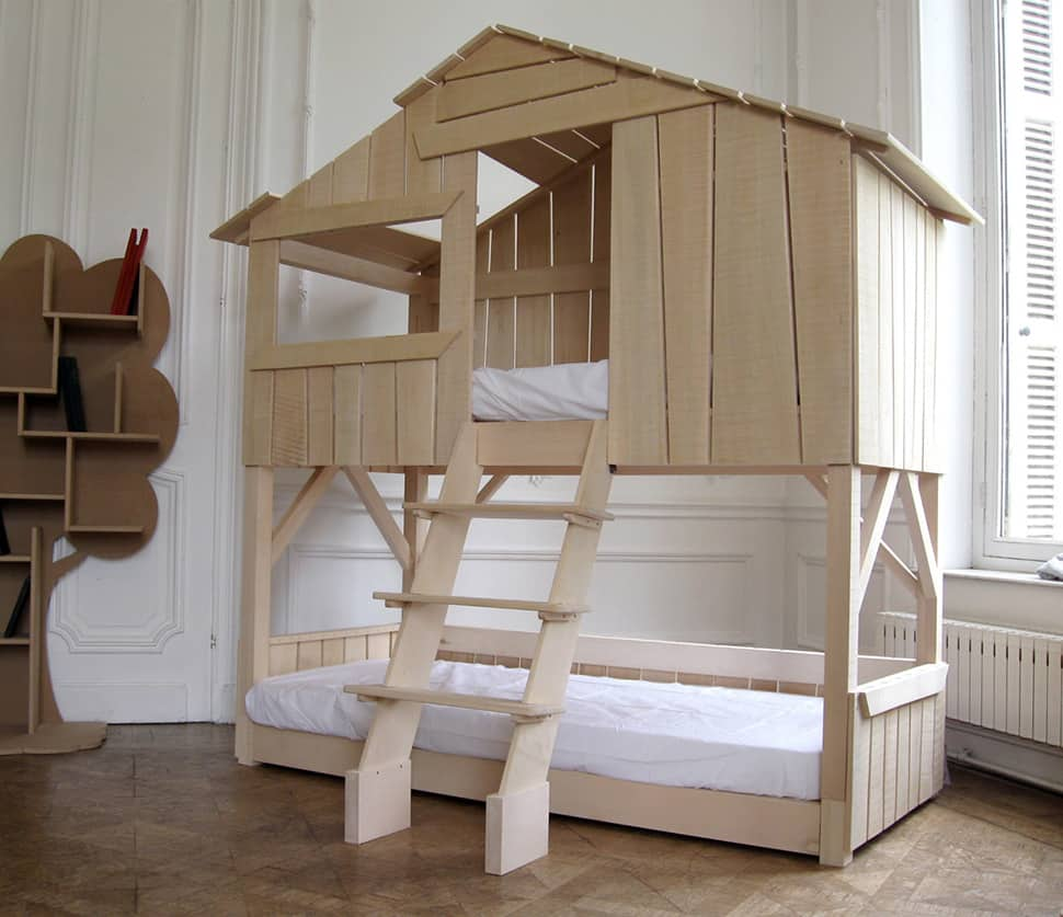 Loft House Design: Kids Playhouse Beds From Mathy By Bols: Loft, Treehouse