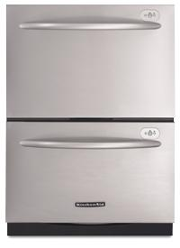 KitchenAid Two-drawer Dishwasher