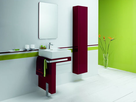kludi esprit single vanity Kludi Bathroom furniture   the Esprit furniture