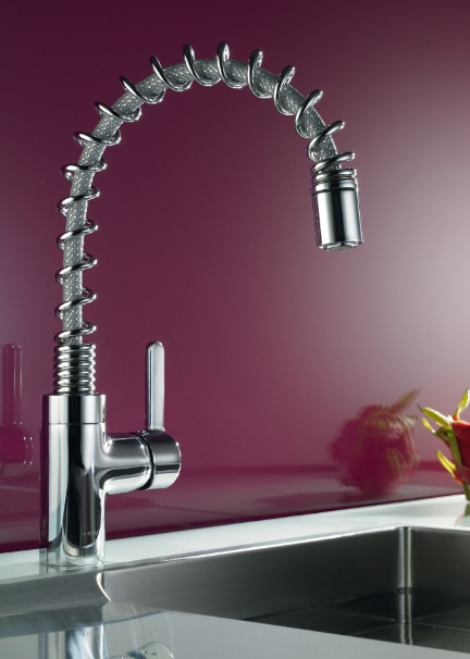 new contemporary kitchen faucet from kludi the fabulous bingo star 200. Black Bedroom Furniture Sets. Home Design Ideas