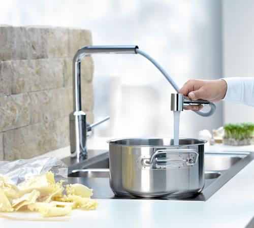kludi kitchen faucet l line 3
