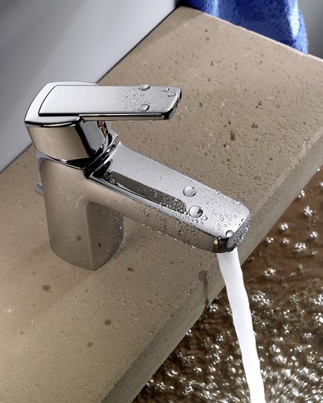 kludi q beo bath faucet Kludi Q BEO faucets   new European bathroom faucet line