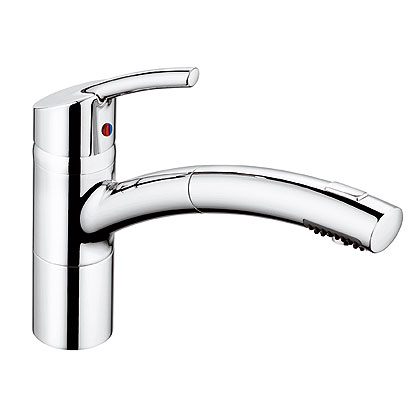 kludi trendo star kitchen faucet pull out