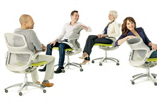 knoll generation chair 4 Knoll Generation Chair   the first office chair that lets you sit how you want