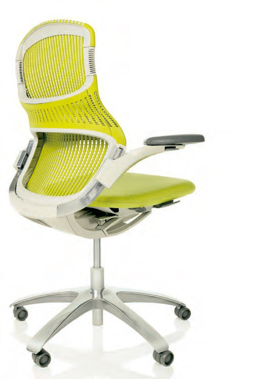 Knoll Generation Chair - the first office chair that lets you sit ...