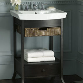New Kohler Bathroom Vanity – the Archer Petite Vanity