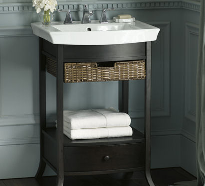 New Kohler Bathroom Vanity - the Archer Petite Vanity