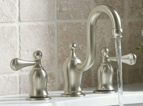 Kohler Bellhaven faucet - the new bathroom faucet