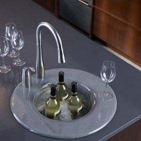 New Kohler Entertainment Sink Cordial – innovative cast iron design